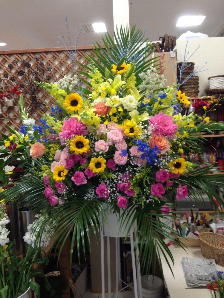 17000円 お祝いスタンド花