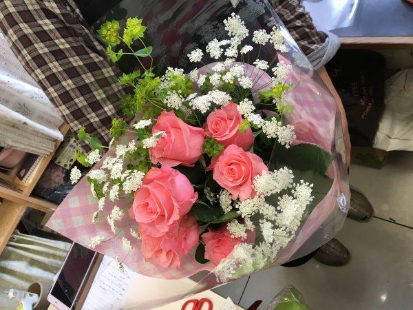 3000円 誕生日の花束
