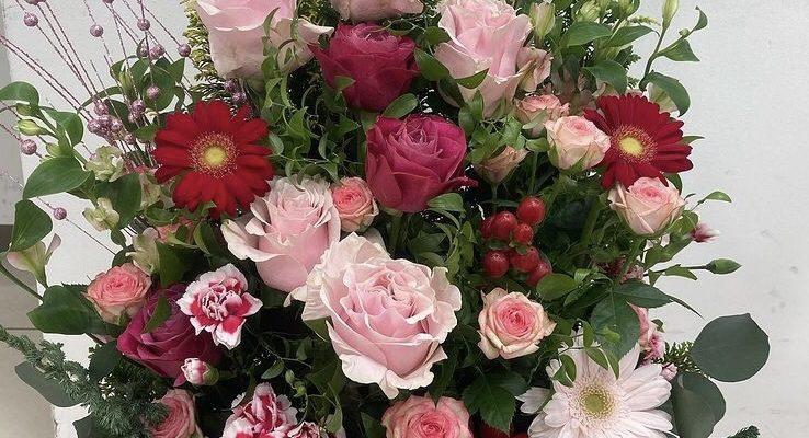 最近おつくりしたお花