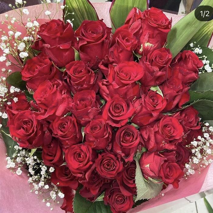 バラの花束 20000円