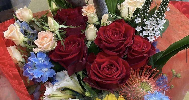 退職祝いの花束 5000