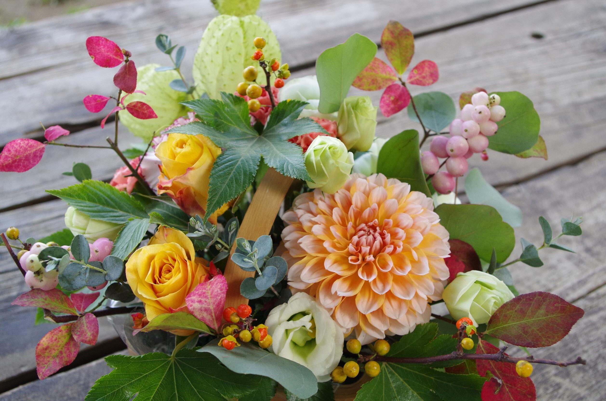 敬老の日のお花、承ります。